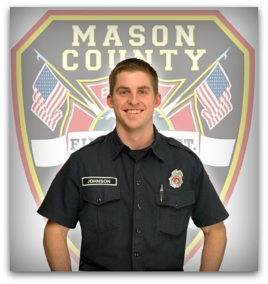 Firefighter EMT Andrew Johnson